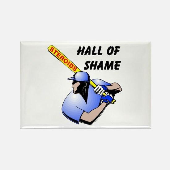 HALL OF SHAME Rectangle Magnet