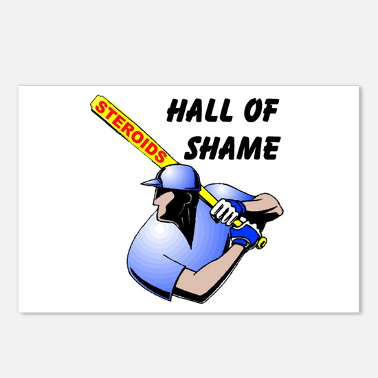 HALL OF SHAME Postcards (Package of 8)