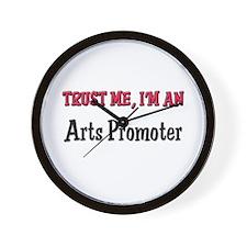 Trust Me I'm an Arts Promoter Wall Clock