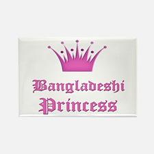 Bangladeshi Princess Rectangle Magnet