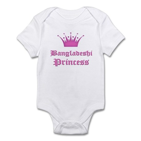 Bangladeshi Princess Infant Bodysuit