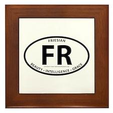 """Friesian """"FR"""" Framed Tile"""