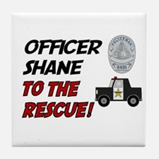 Shane to the Rescue!  Tile Coaster