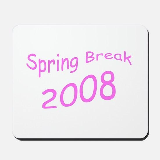Pink Spring Break Mousepad