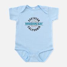 Mission Bay California Infant Bodysuit