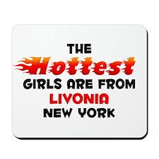 Hot Girls: Livonia, NY Mousepad