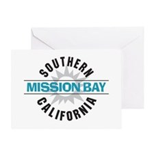 Mission Bay California Greeting Card