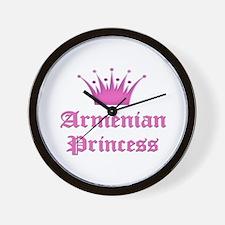 Armenian Princess Wall Clock