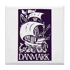 Danmark Tile Coaster
