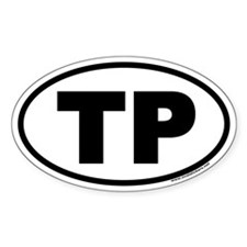 TP Euro Style Oval Decal