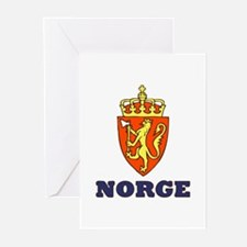 NORGE Greeting Cards (Pk of 10)
