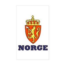 NORGE Rectangle Decal