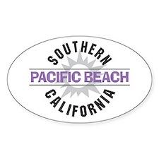 Pacific Beach California Decal