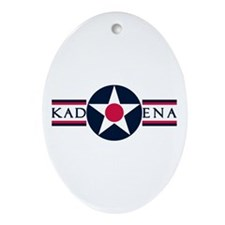 Kadena Air Base Oval Ornament