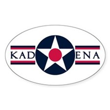 Kadena Air Base Oval Decal