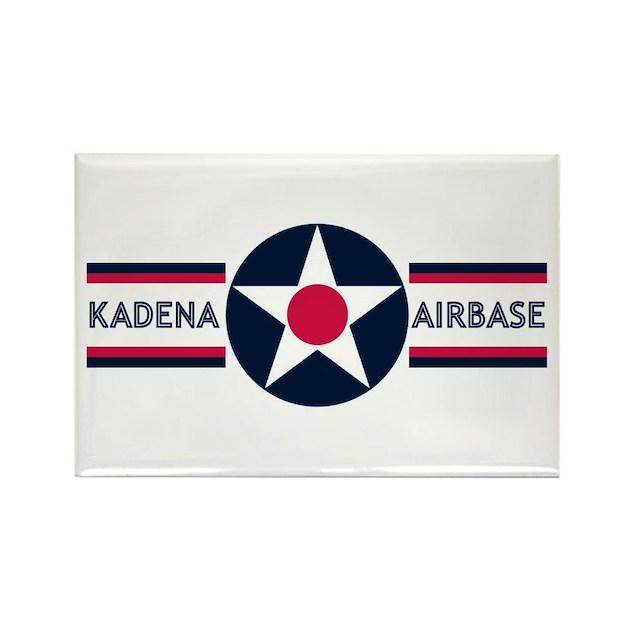 Kadena Decorative Pillow : Kadena Air Base Rectangle Magnet by airbasestore