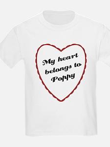 My Heart Belongs to Poppy T-Shirt