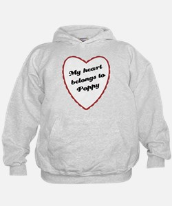 My Heart Belongs to Poppy Hoodie