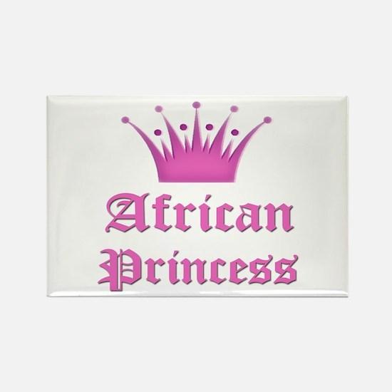 African Princess Rectangle Magnet