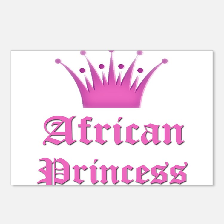 African Princess Postcards (Package of 8)