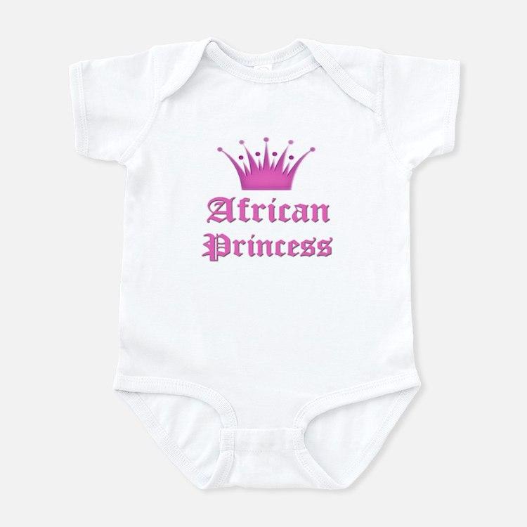 African Princess Infant Bodysuit