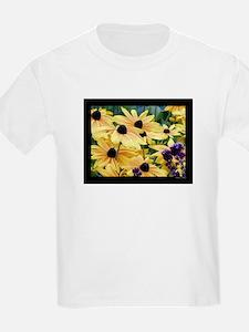 Black Eyed Susans Kids T-Shirt