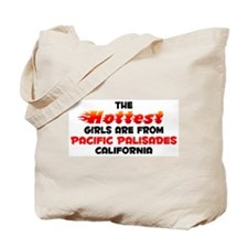 Hot Girls: Pacific Pali, CA Tote Bag