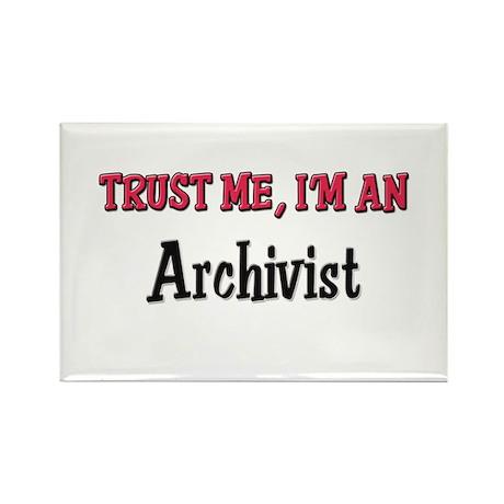 Trust Me I'm an Archivist Rectangle Magnet (10 pac