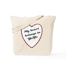 My Heart Belongs to YaYa Tote Bag