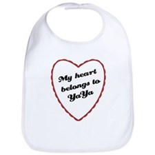 My Heart Belongs to YaYa Bib