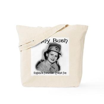 Fanny Bush Cricket Fan Tote Bag