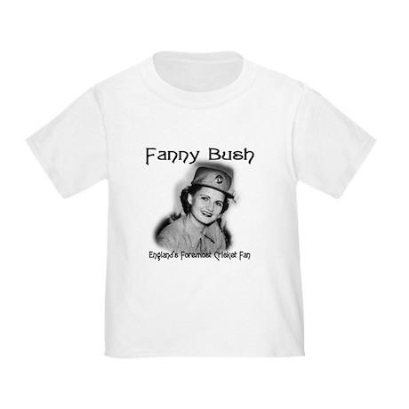 Fanny Bush Cricket Fan Toddler T-Shirt