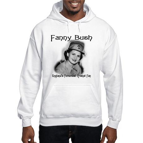 Fanny Bush Cricket Fan Hooded Sweatshirt