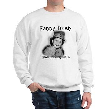 Fanny Bush Cricket Fan Sweatshirt