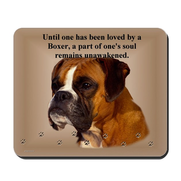 Soft Ear Boxer Mousepad By Eclipsedesigns
