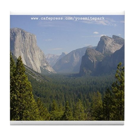 Yosemite National Park Tile Coaster