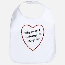 My Heart Belongs to Zaydie Bib