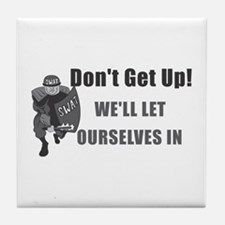 SWAT Dont Get Up Tile Coaster