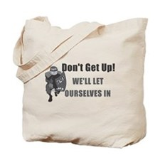 SWAT Dont Get Up Tote Bag