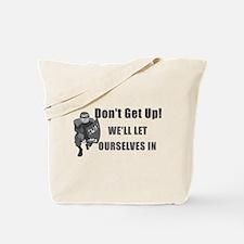 SWAT Dont Get Up Tote Bag