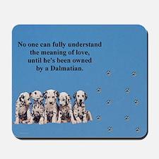 Dalmatian Puppies Mousepad