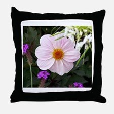 Pinks In Versailles Garden Throw Pillow