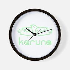 Karuna (Compassion) Wall Clock