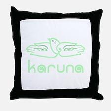 Karuna (Compassion) Throw Pillow
