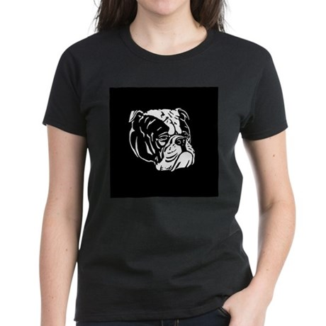 Bulldog Women's Dark T-Shirt