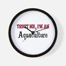 Trust Me I'm an Aquaculture Wall Clock