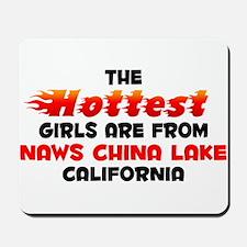 Hot Girls: NAWS China L, CA Mousepad