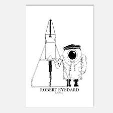 Robert Eyedard Postcards (Package of 8)