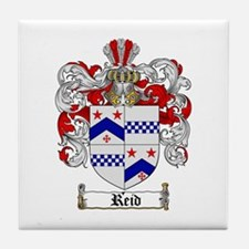Reid Family Crest Tile Coaster