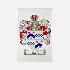 Reid Family Crest Rectangle Magnet (10 pack)
